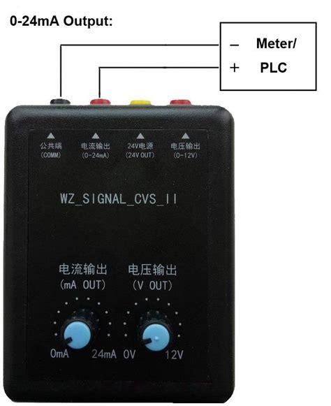 esr meter analog 4 20ma generator simulator 0 24ma out brightwin