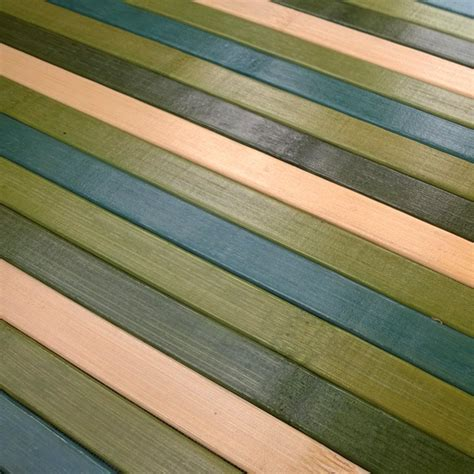 tappeti in bamboo bamboo cucina tappeto passatoia deluxe degrade verde