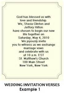 wedding words christian wedding invitation wording