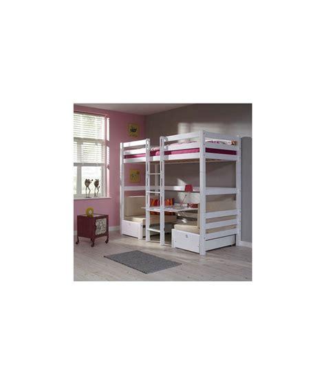 lit superpose avec bureau lits enfants superposés avec sommier gigogne pictures to