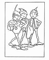 Coloring Pages Brownie Scout Sheets Mythical Brownies Pixies Elves Fairies Elf Printable Pixie Fantasy Activity Medieval Fairy Beings Template Popular sketch template
