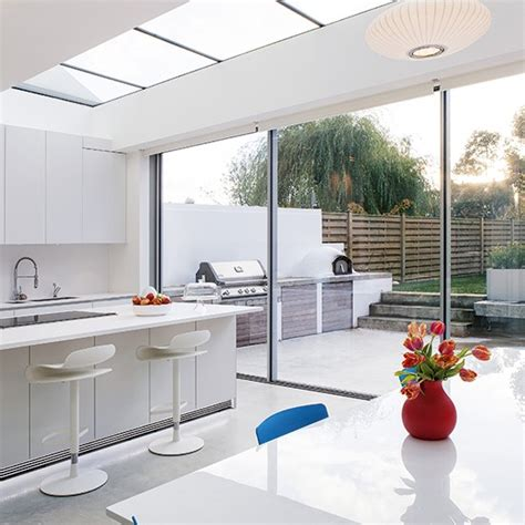 kitchen extensions ideas smart white kitchen extension kitchen extension design