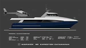 W 100m Cruise Powercat Warwick Yacht Design