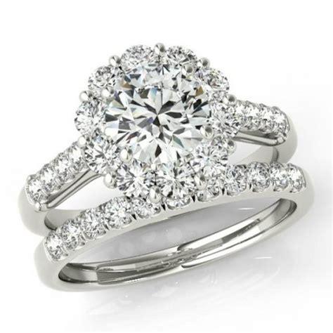 moissanite wedding sets bridal engagement rings canada