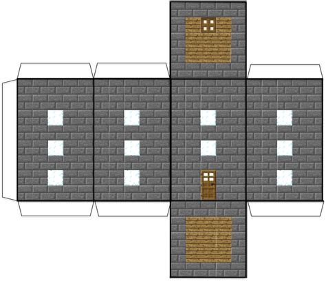 minecraft house templates 4 best images of big house minecraft printables minecraft papercraft house blocks awesome big