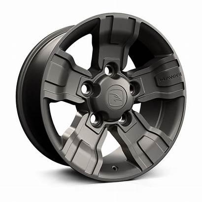 Osprey Hawke Wheels Gunmetal Matt Standard Grey