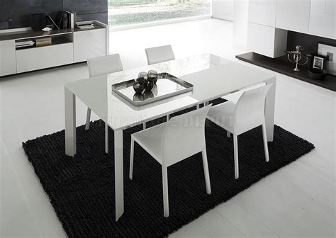 white lacquered glass top modern dining table  stunning furniture glass tables dining room