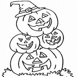 Citrouille D Halloween Dessin : coloriage famille citrouille d 39 halloween en ligne gratuit imprimer ~ Nature-et-papiers.com Idées de Décoration
