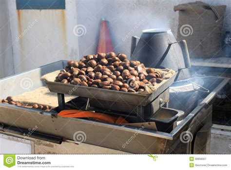 Chestnuts Roasting Royalty Free Stock Photography Image
