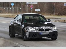 2018 BMW M2 Facelift Spotted Almost Uncovered, Looks As