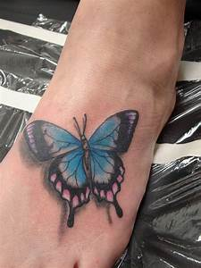 Butterfly Foot Tattoos ~ All About