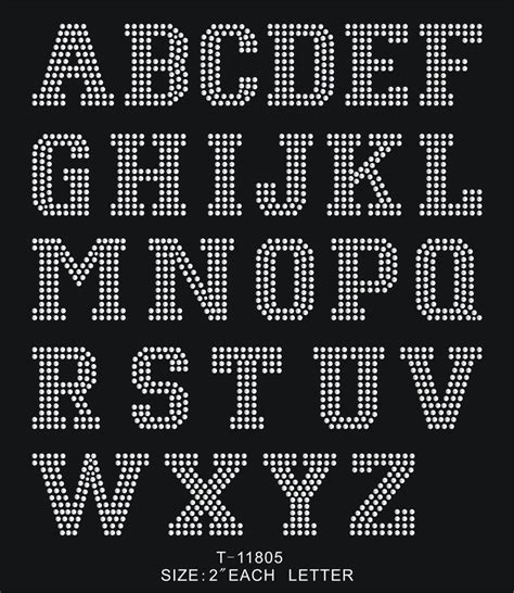 iron on rhinestone letters 2 quot block letters number iron on hotfix motif rhinestone