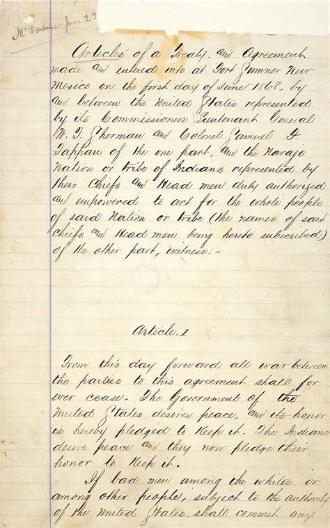 treaty  bosque redondo wikipedia