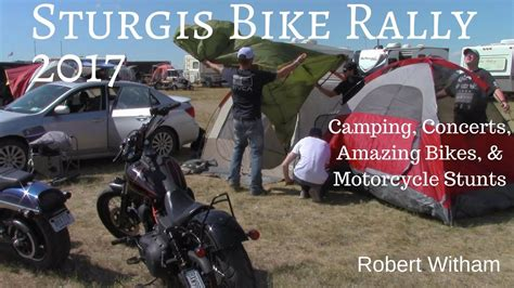 Camping, Concerts, Amazing Bikes