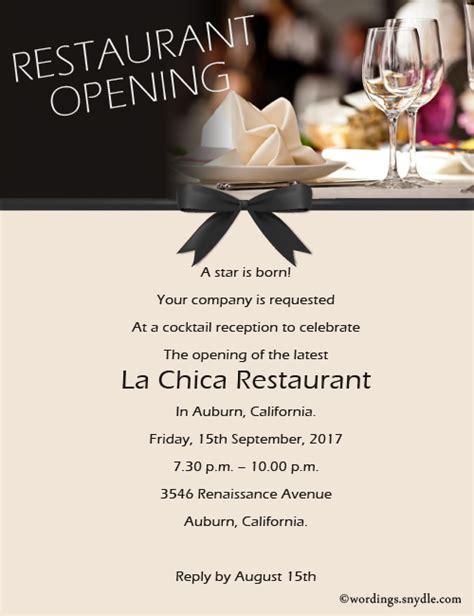 contoh invitation grand opening restaurant contoh xisa