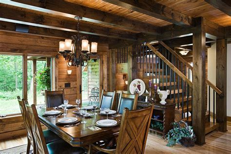Kitchens & Dining   Timberhaven Log & Timber Homes