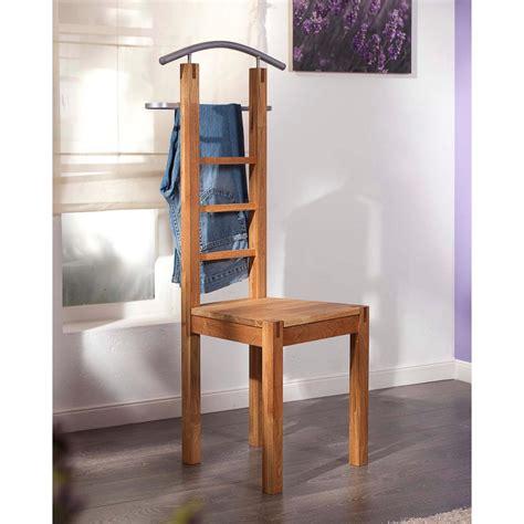 stummer diener design stummer diener stuhl aus massivem eichenholz stahl d 228 nisches bettenlager