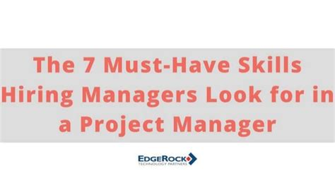 the 7 must skills hiring managers look for in a