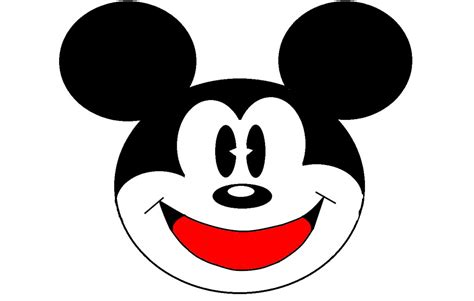 Mickey Mouse Drawn Using Shapes Full By Metalshadow272 On