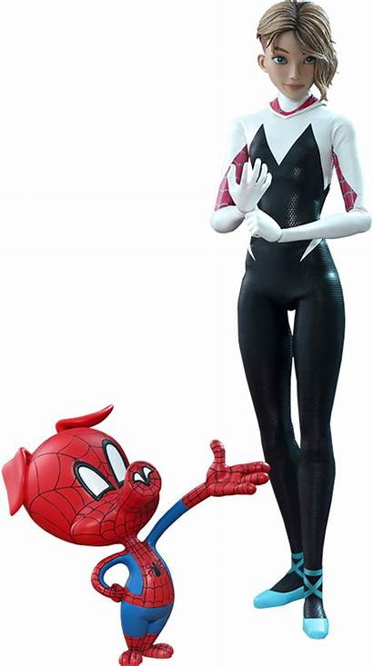 Gwen Spider Verse Into Stacy Marvel Action