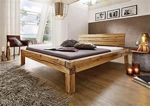 Weißes Holzbett 140x200 : balkenbetten in 200x200 cm g nstig bei stilartm bel kaufen ~ Frokenaadalensverden.com Haus und Dekorationen