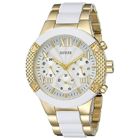 Guess 20563 Gold White new guess gold white multifunction