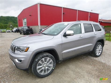 jeep grand cherokee trailhawk silver 2017 billet silver metallic jeep grand cherokee limited