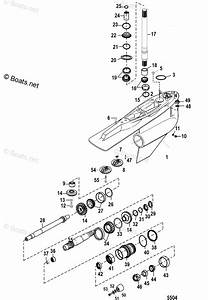 Mercury Mercruiser Sterndrive Parts By Year Mercruiser Race Sterndrive Oem Parts Diagram For