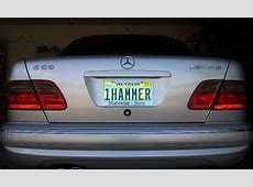 Personalized License Plate Ideas Page 2 MBWorldorg Forums