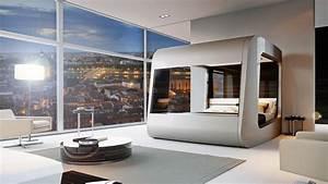 Lit Du Futur : d couvrez l appartement du futur au salon du logement de toulouse 13 02 2019 ~ Melissatoandfro.com Idées de Décoration