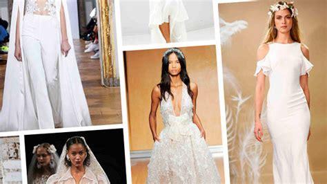 top  fall wedding dress trends  bridal fashion week