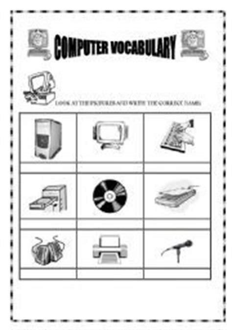 worksheets images worksheets teaching computers