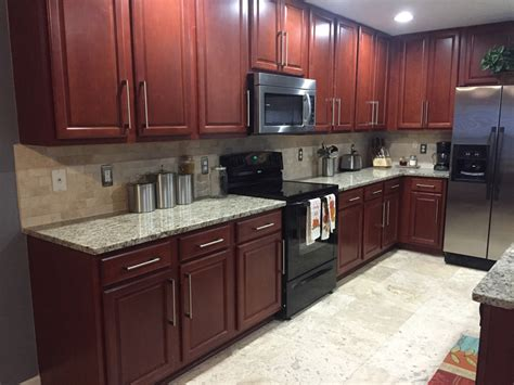 how to install a backsplash in kitchen giallo ornamental granite countertops in kitchen with 9414