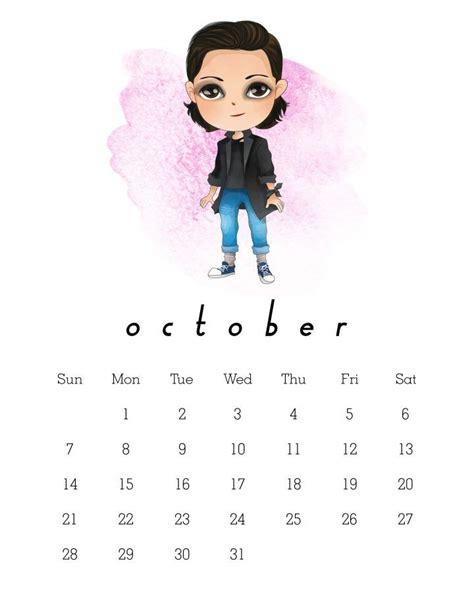 printable  stranger  calendar stranger
