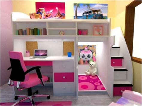 10 Best Loft Bed With Desk Designs by Diy Loft Bed With Desk Underneath Walsall Home And Garden