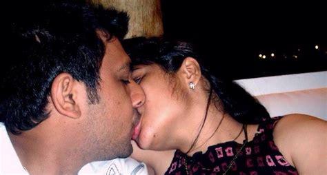 Indian Couple Hot Kissing Photos