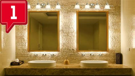cool bathroom light fixtures ideas youtube
