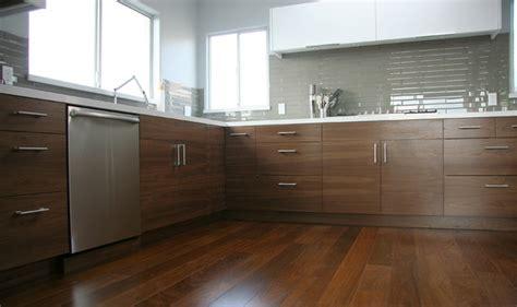 walnut cabinets kitchen modern walnut ikea kitchen contemporary kitchen los angeles 6988