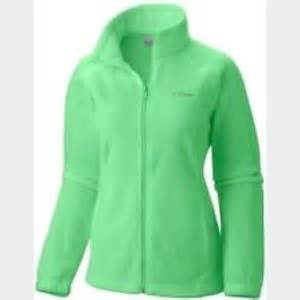 off Columbia Jackets & Blazers Lime green women s
