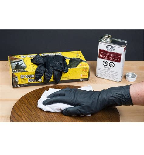 grease monkey nitrile gloves lee valley tools