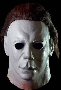 Disney Company Michael Myers Halloween Ii Hospital Mask Licensed By Trick