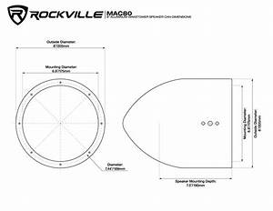 Wiring Diagram For Speakers  Rockvill Rsg