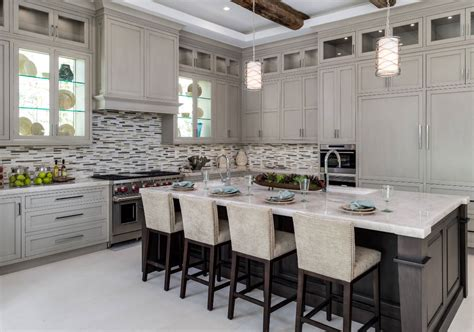 transitional kitchen deconstruction   cabinets