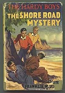 uk shore road mystery crime book cover hardy boys
