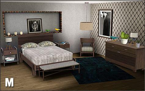 sims  blog boston bedroom set  mango sims