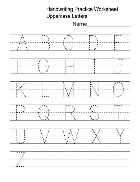 alphabet practice worksheets  print activity shelter