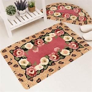 tapis entree maison meilleures images d39inspiration pour With tapis chambre bébé avec tapis fleur pour dos