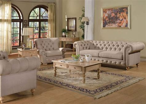 formal living room sets furniture shantoria formal living room set in beige