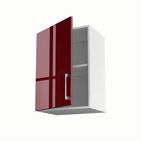 porte meuble de cuisine meuble de cuisine haut 1 porte griotte h 70 x l 50 x