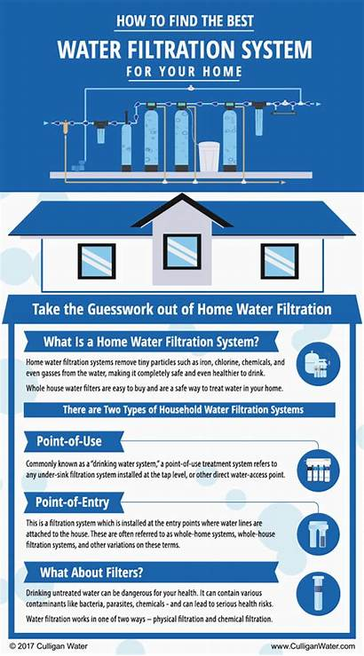 Water Filter Infographics Infographic Whole System Filters